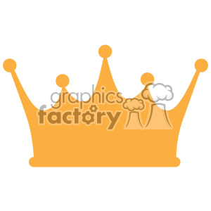 gold crown svg dxf cut files clipart. Royalty-free image # 403094