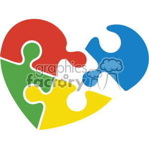 autism puzzle design svg cut file