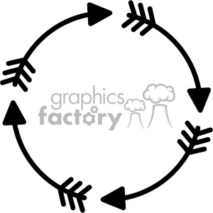 circle arrow svg cut file clipart. Commercial use image # 403231