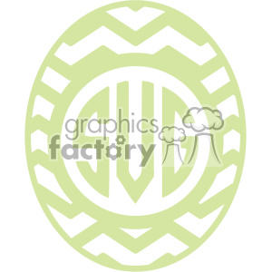 easter egg svg cut file 11 clipart. Royalty-free image # 403725