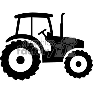 tractor svg cut file v2 clipart. Royalty-free image # 403773