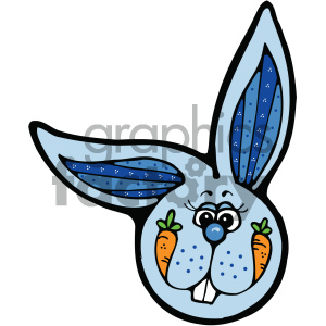 cartoon clipart bunny 007 c clipart. Royalty-free image # 404778
