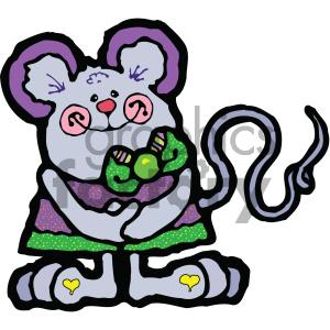 cartoon animals vector PR mouse