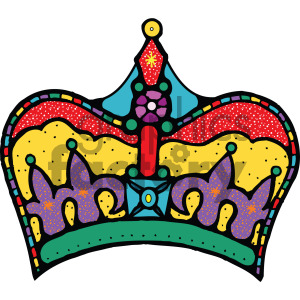 cartoon clipart crown clipart. Royalty-free icon # 405147