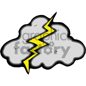 storm cloud image clipart. Commercial use image # 405202
