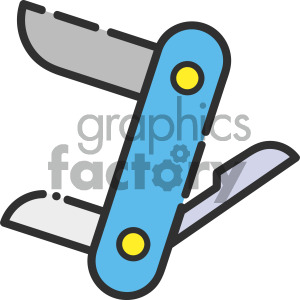 utility knife vector royalty free icon art clipart. Royalty-free image # 405395