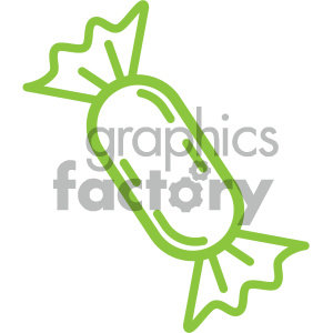 flat vector candy design