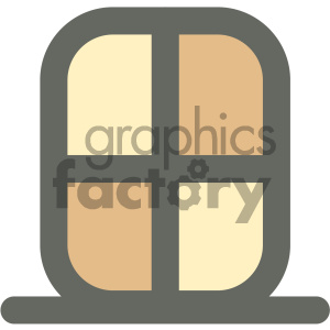 window furniture icon clipart. Commercial use image # 405681
