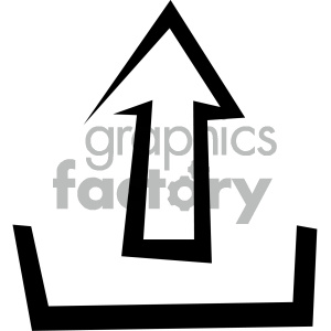 upload data vector flat icon clipart. Royalty-free image # 405770