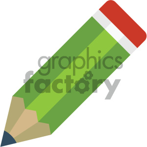 pencil vector flat icon clipart. Royalty-free icon # 405837