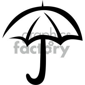umbrella weather vector flat icon clipart. Royalty-free icon # 405852