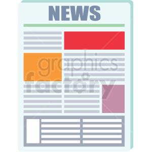 news article clipart. Commercial use image # 406018