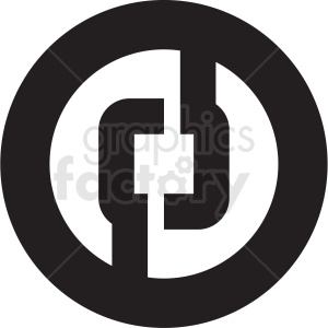 cryptocurrency tech icon clipart. Royalty-free image # 406142