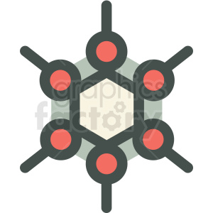 fullerene allotrope carbon tech icon clipart. Commercial use image # 406161