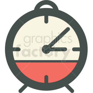 icons technology clock time