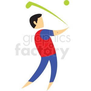 golf sport icon clipart. Royalty-free image # 406211