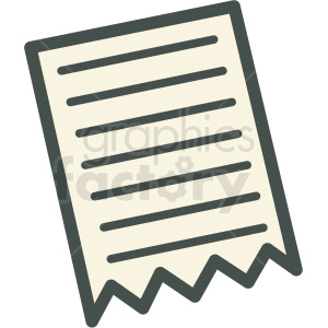 ripped paper vector icon clip art clipart. Commercial use image # 406251