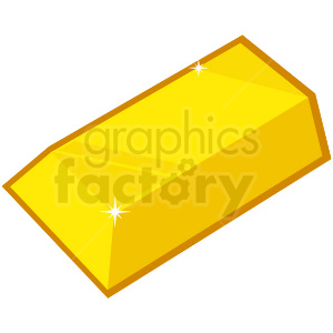 gold bar vector icon game art clipart. Commercial use icon # 406376