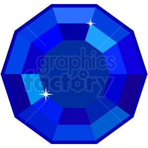 sapphire vector icon game art clipart. Royalty-free image # 406384
