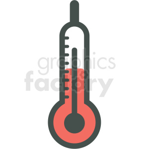 thermometer vector icon clipart. Commercial use image # 406440