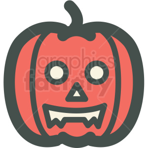 halloween pumpkin vector icon image clipart. Royalty-free image # 406528