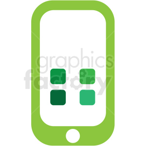 mobile phone apps icon clip art clipart. Royalty-free icon # 406637