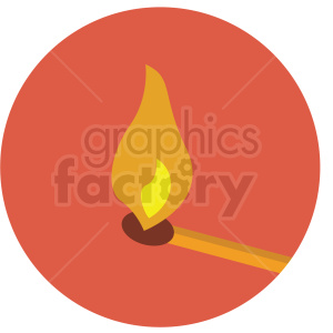 match icon clipart with circle background