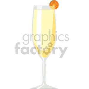 champagne glass flat icons clipart. Royalty-free image # 407179