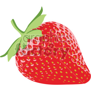 strawberry flat icon clip art clipart. Royalty-free icon # 407195
