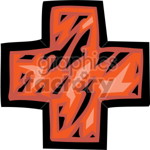 red cross clipart. Commercial use image # 149471