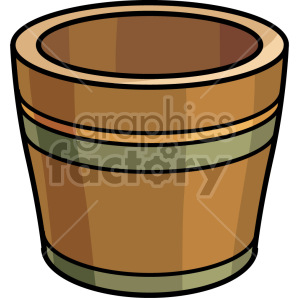 flower pot clipart. Royalty-free image # 151121
