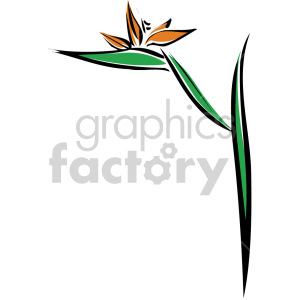 flower clipart. Royalty-free image # 151161