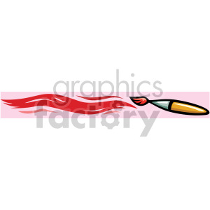 Paint brush painting clipart. Royalty-free image # 166994