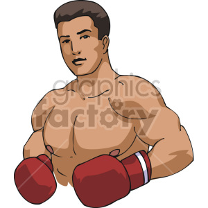 boxing clipart. Royalty-free image # 168749