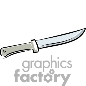 knife clipart. Royalty-free image # 173734