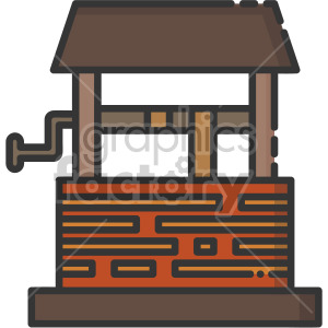 water well clipart. Royalty-free image # 407966