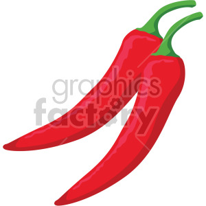 chili peppers clipart. Royalty-free image # 407989