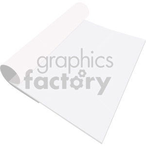 paper notebook no background clipart. Royalty-free image # 408108