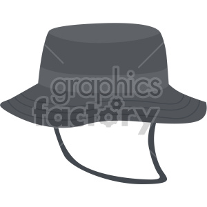bucket hat no background clipart. Royalty-free icon # 408186