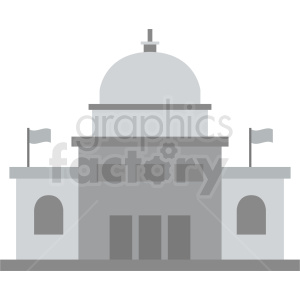 government embassy vector icon clipart. Royalty-free image # 408514