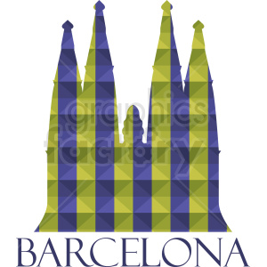 barcelona vector clipart. Royalty-free image # 408602