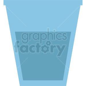 water cup design clipart. Royalty-free image # 408664