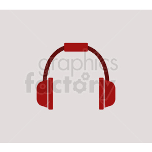 headphone on light background clipart. Royalty-free image # 408686