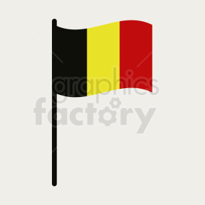 belgium flag on light background icon clipart. Royalty-free image # 408772