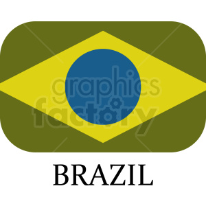 brazil flag idea clipart. Royalty-free image # 408774