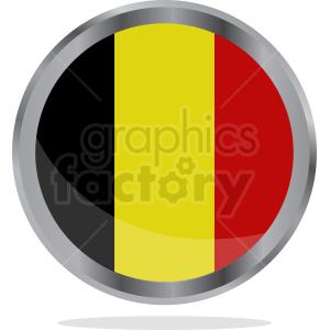 Flag of Belgium symbol clipart. Royalty-free image # 408799