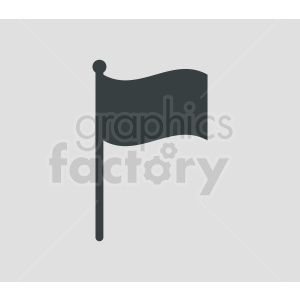 flag icon on gray background clipart. Commercial use image # 408827