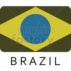 brazil icon idea clipart. Commercial use image # 408849