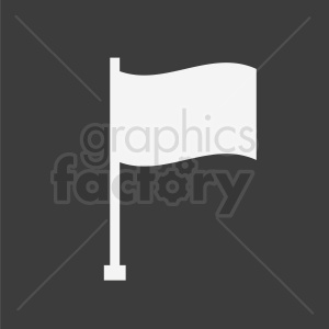 flag icon on dark background clipart. Commercial use image # 408859