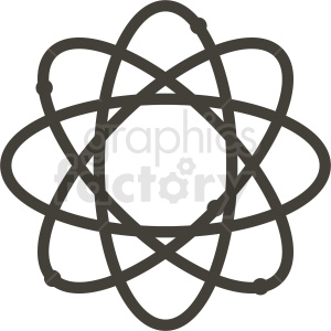vector atoms clipart. Royalty-free image # 409052